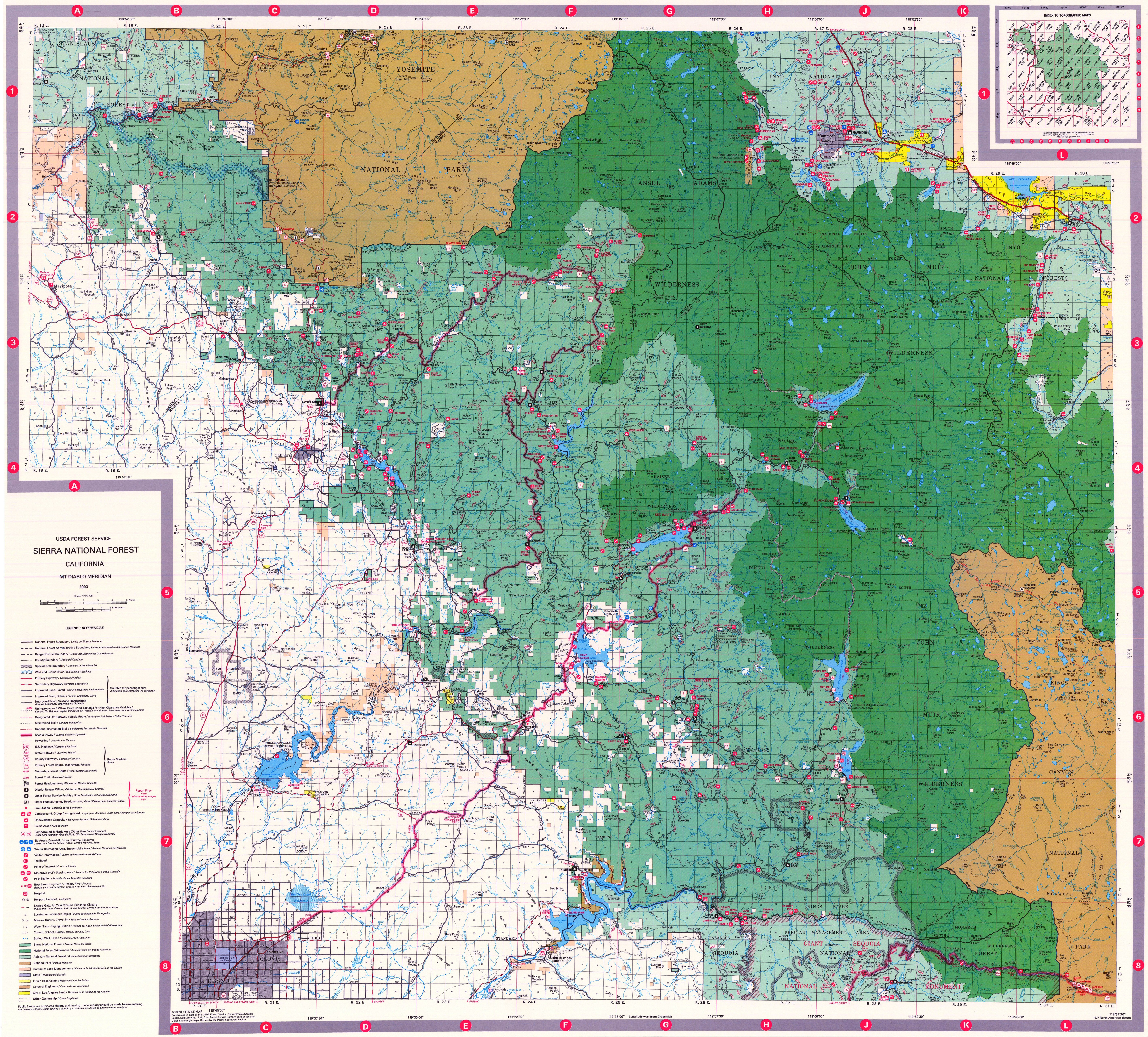 Index of /Maps/NationalForest