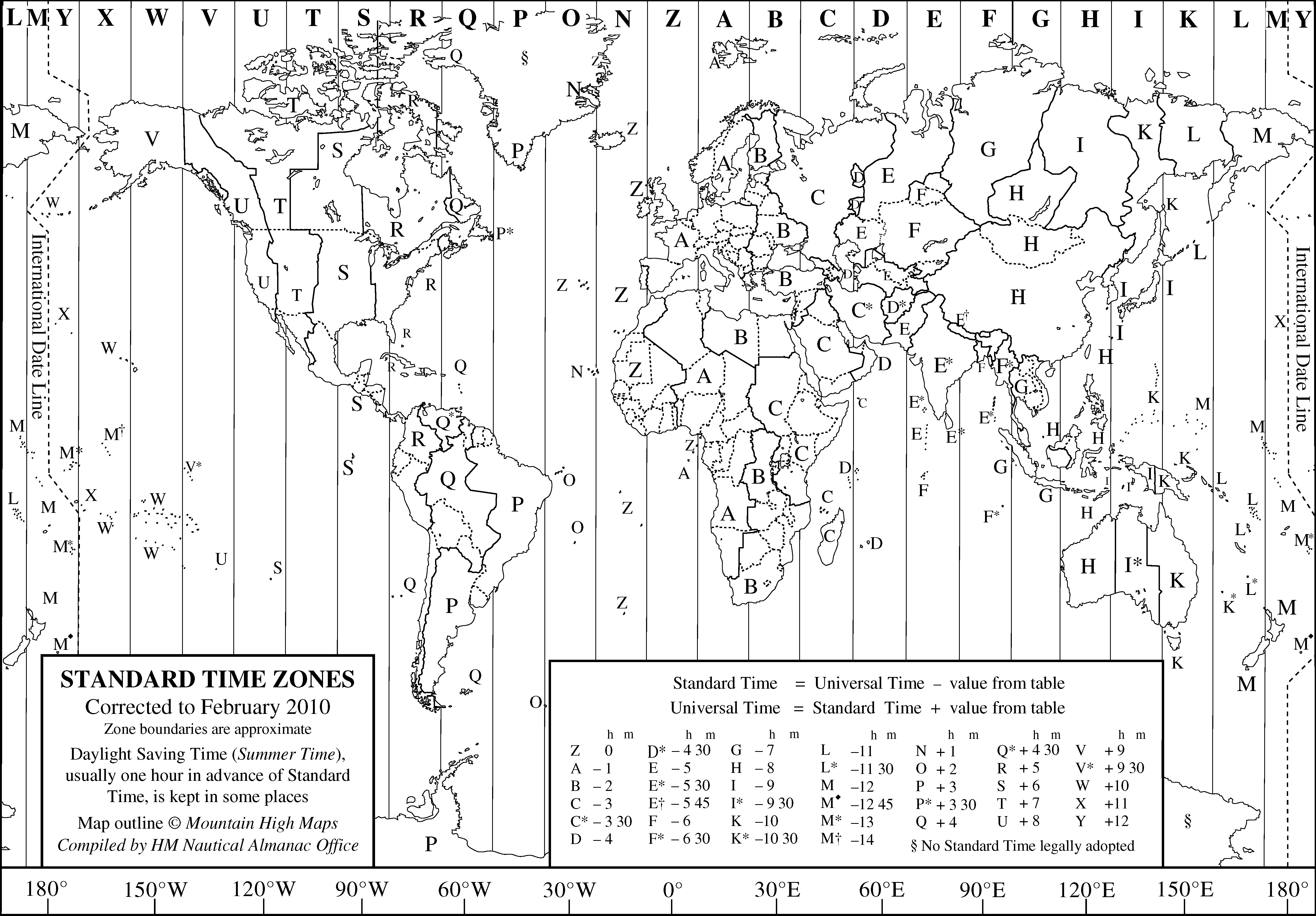 Index Of MapsTimeZones - Us map with time zones and state names